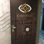 טפט לדלת משרד- עיצוב טפט לדלת