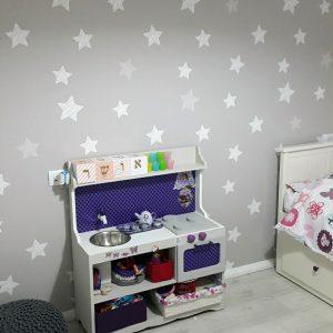 טפט פרחים - טפט לחדרי ילדים
