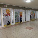 עיצוב מסדרונות בית ספר- אורט נצרת עילית
