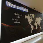מיתוג משרדי חברת Western digital- לוגו חברה מואר- אבי אריאלי