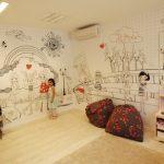 טפטים לחדרי ילדים- טפטים מחיקים לילדים- קיר מחיק לילדים