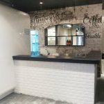 קופיקס בר- cofix- טפט בעיצוב אישי- טפטים לחנויות ומסעדות- אבי אריאלי