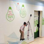 עיצוב מסדרונות בית ספר- עיצוב מרחבי למידה- עיצוב סביבות למידה- אבי אריאלי