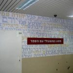 נאות אשלים -עיצוב קירות בית ספר- עיצוב מרחבי למידה- אבי אריאלי