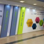 עיצוב קירות בית ספר- עיצוב מרחבי למידה- אבי אריאלי