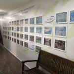 עיצוב קיר תמונות מחזור- עיצוב סביבות למידה- אבי אריאלי
