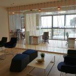 קיר חוטים- עיצוב משרדי חברת medx- סטודיו אבי אריאלי