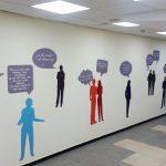 עיצוב קירות בית ספר- עיצוב מרחבי בית ספר מקיף ג- אבי אריאלי