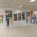 עיצוב קירות בית ספר- עיצוב מרחבי בית ספר מקיף ט- אבי אריאלי