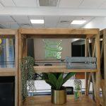לוגו מואר- עיצוב משרדי חברת Jfrog- סטודיו אבי אריאלי
