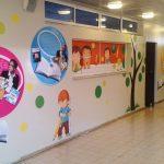 """עיצוב בי""""ס הדרים- עיצוב קירות בית ספר- עיצוב מרחבי למידה- אבי אריאלי"""