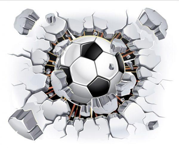 טפט לחדרי ילדים- טפט כדורגל- אבי אריאלי
