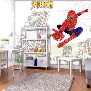 טפטים לילדים-טפט ספיידרמן- טפטים לחדרי ילדים- אבי אריאלי