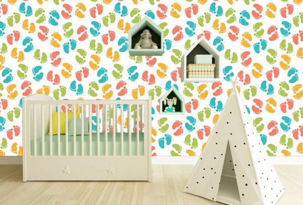 טפטים לחדרי תינוקות- טפטים לחדרי ילדים- אבי אריאלי