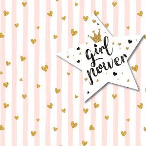 טפטים לחדרי ילדים- טפט בנות girl power- אבי אריאלי